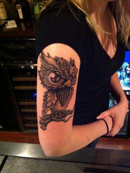 buhos lechuzas tatuajes - Buscar con Google   TATTOOS   Pinterest