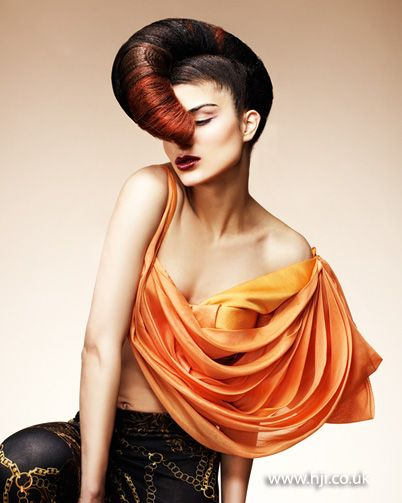138 best images about Hair Hat on Pinterest Jean paul gaultier, Updo hairstyle and Hair shows