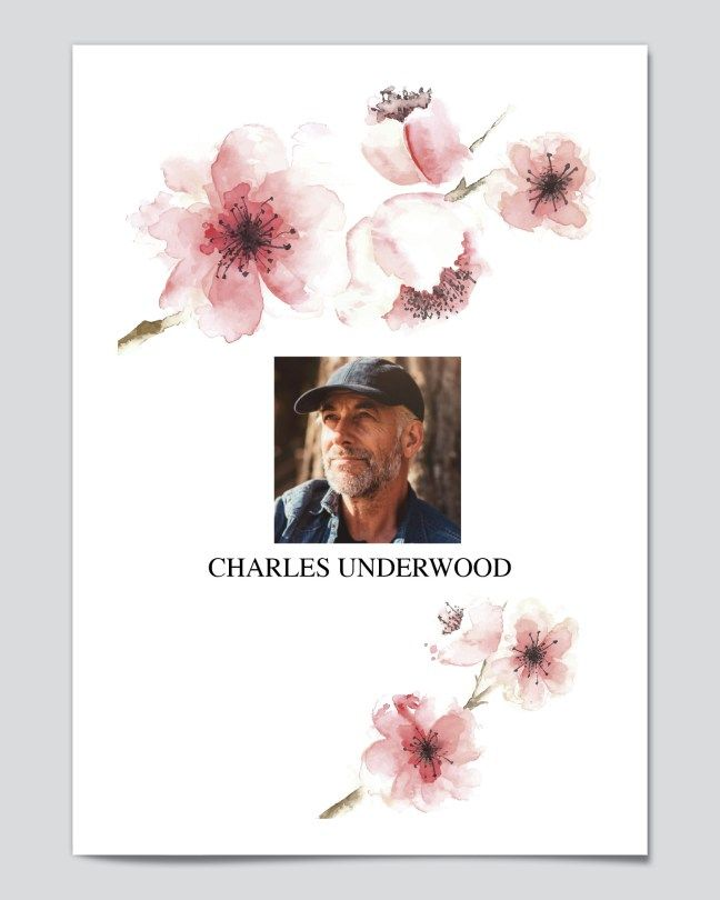 free editable funeral program templates free editable funeral program templates downloadable and customizable