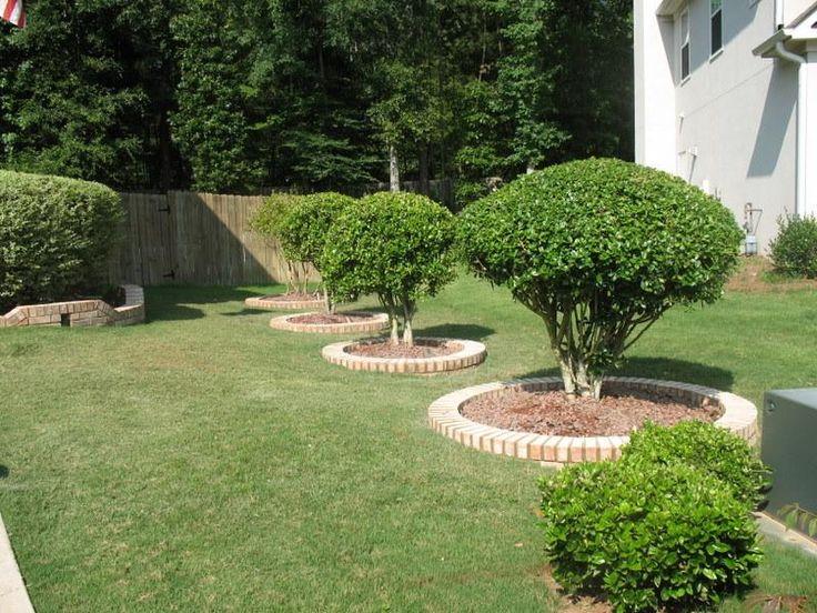 13 best garden extras images on pinterest flower beds for Tree edging border ideas