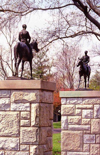 Majesty.  Keeneland Thoroughbred Race Track.  Lexington, KY.