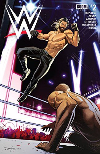 WWE #2:   Seth Rollins has finally done it—he has won the WWE Championship out from under Roman Reigns at WrestleMania. But everything has its price, and as the Authority starts calling all of his shots, forcing him to become a fighting champion with the weight of the company on his back, something's gotta give...