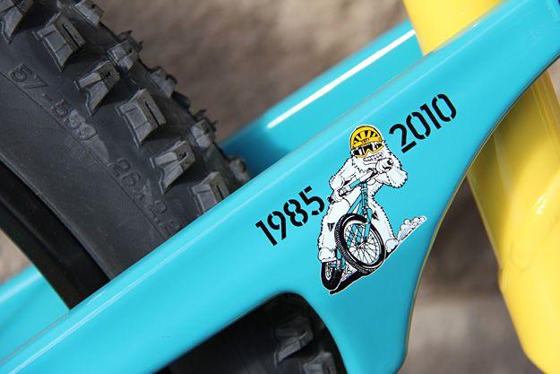 Yeti 25th 575 With Images Yeti Cycles Yeti Bikes Yeti