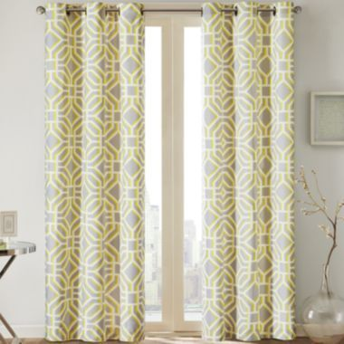 Madison Park Alana Grommet-Top Curtain Panel  found at @JCPenney ---MBR in teal
