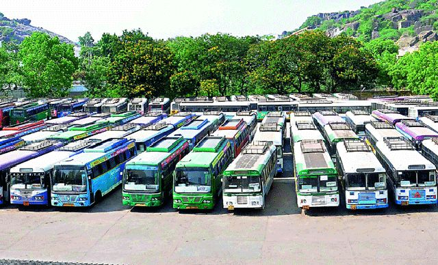 High Court issues orders yet again to call off RTC strike Read complete story click here http://www.thehansindia.com/posts/index/2015-05-13/High-Court-issues-orders-yet-again-to-call-off-RTC-strike-150712