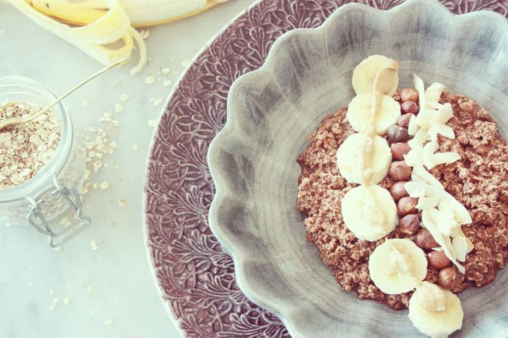 Protein Brownie overnight  #oatmeal #havregryn #gröt #havregrynsgröt #overnight #övernatten #frukost #nyttigt #cleaneating #hälsosamt