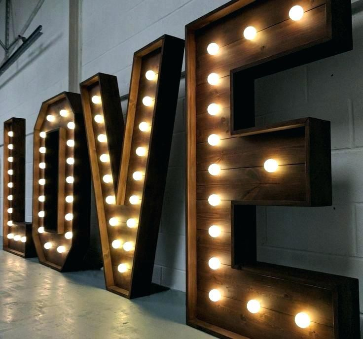 Light Up Letters For Wall Light Up Wall Letters Up Wall Letters