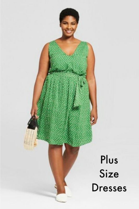 Great source for Plus Size Dresses! - Target - #plussize #women #men ...