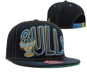 Casquette NBA Chicago Bulls Snapback Marine : Casquette Pas Cher