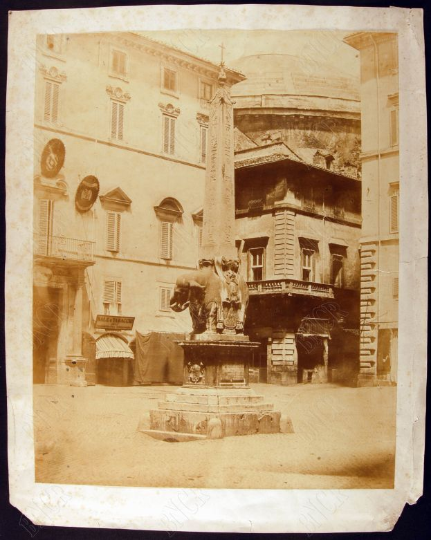 Piazza Minerva 1858