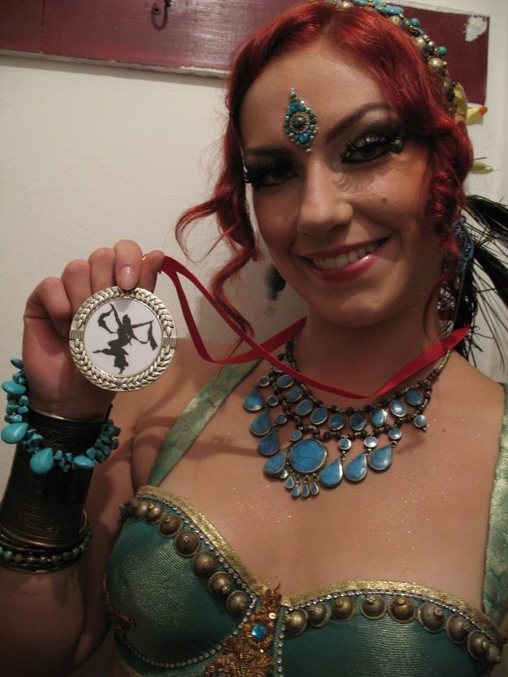 dancer: Agata Zakrzewska bindi: Tribal Bindi