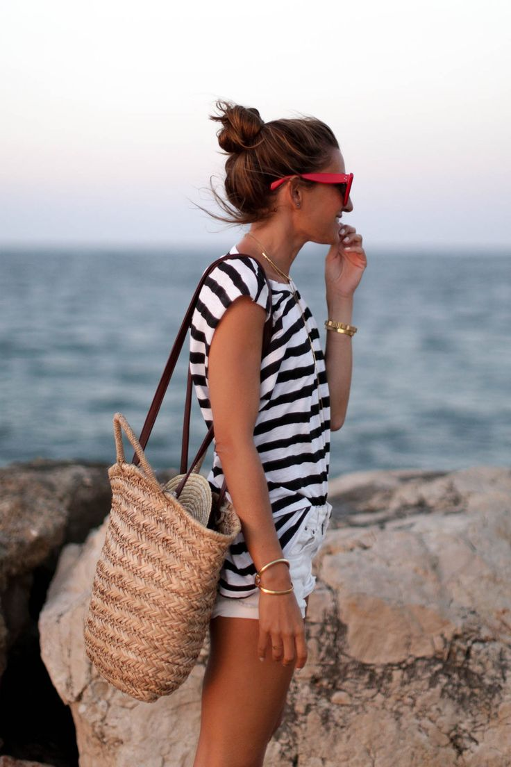 bartabac blog moda fashion stripes striped shorts aquazzura blog fashion moda-5