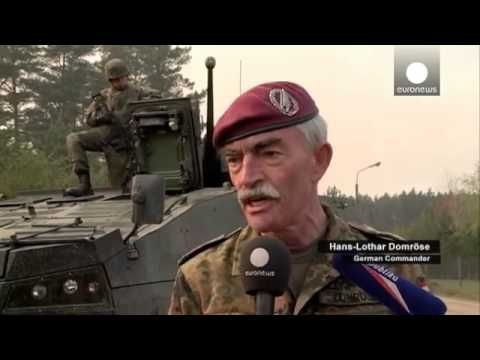 Breaking WW3 News : NATO Spearhead Task Forces Drills In Poland