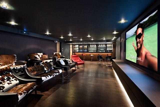 die besten 25 heimkino keller ideen auf pinterest. Black Bedroom Furniture Sets. Home Design Ideas