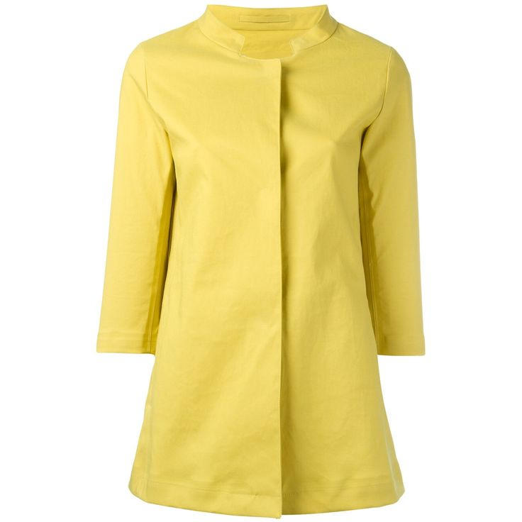 3/4 sleeve, cotton-blend, raincoat from Herno: perfecting fashionable raincoats and outerwear since 1947.  Comes in yellow, navy, and ivory.