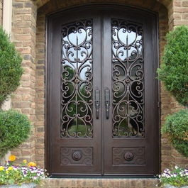 Tuscany Design - mediterranean - front doors - other metro - by Tuscan Iron Entries handles & 31 best Front Gate Ideas images on Pinterest | Front doors Entrance ...