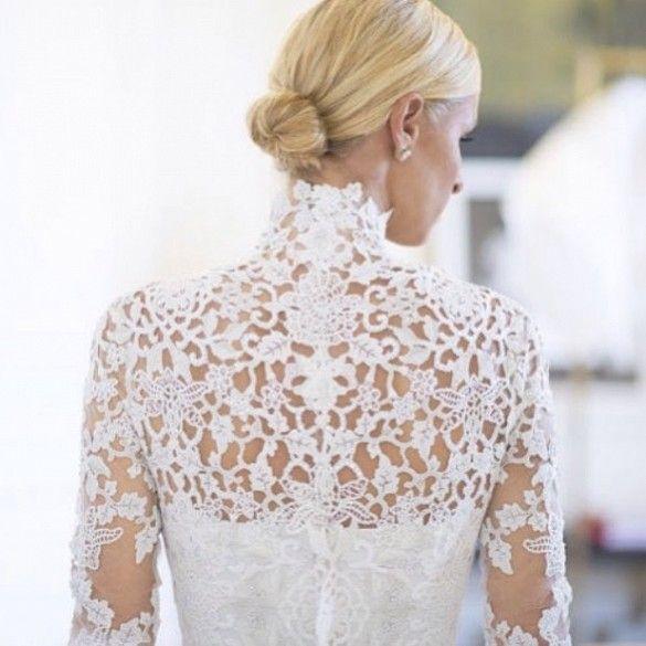 See Nicky Hilton's Gorgeous Valentino Wedding Dress via @WhoWhatWear