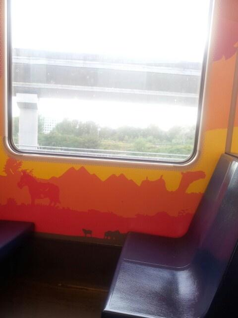 Dutch metro art