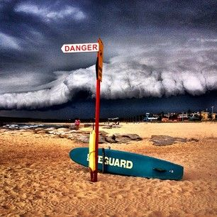 It menaced Maroubra. | 19 Epic Pictures Of The Monster Thunderstorm That Shook Sydney