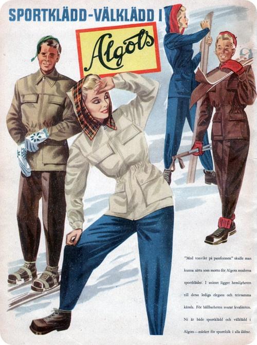 Sportklädd - välklädd i Algots