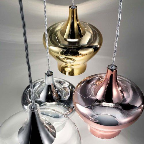 Italian Glass Pendant Lights   Assorted Finishes – Lighting Collective