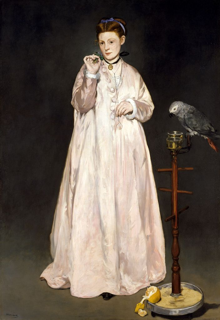 Edouard Manet - Woman with Parrot at Metropolitan Museum of Art New York | by mbell1975