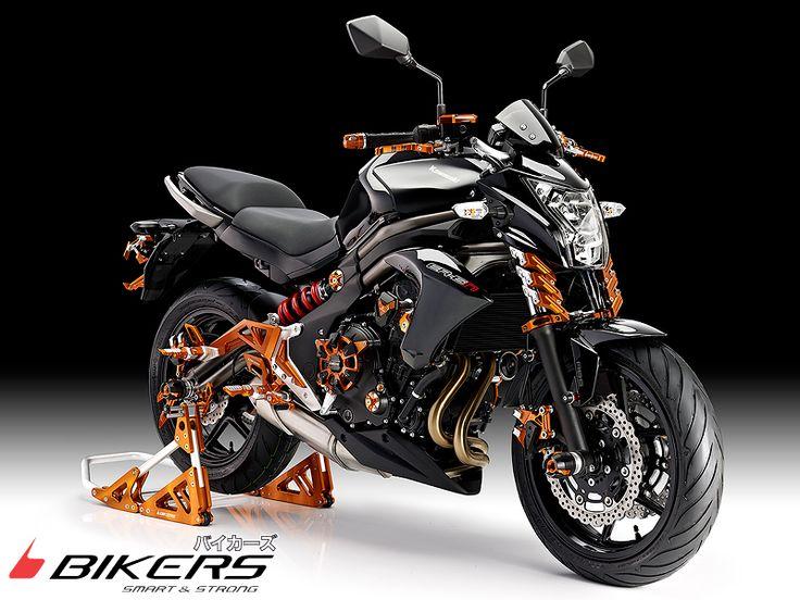 Accessoire Kawasaki er-6n 650 BIKERS 2009 2010 2011 2012 2013 2014