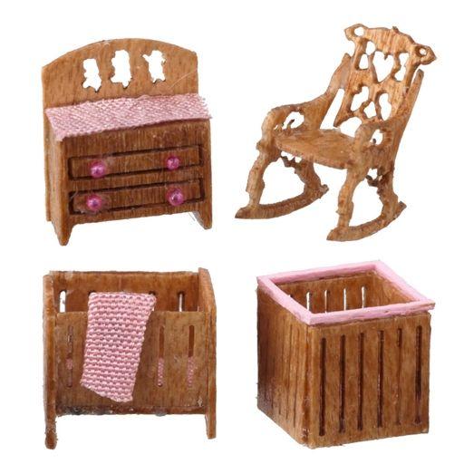 1/144 Scale Victorian Nursery Furniture Kit