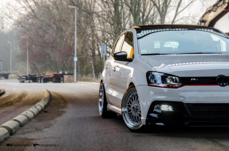 Making the VW Polo VI look this manly is always worthy of praise. Well done.