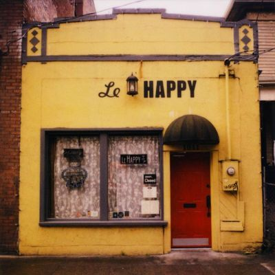 @Sara Hull Possible location? Le Happy creperie, 1011 NW 16th Ave. Wonder if the surrounding area has some other cute gems like this?