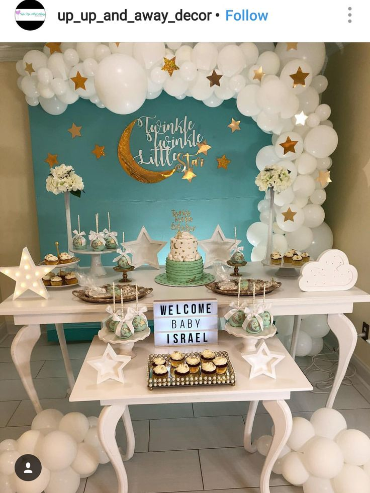 Twinkle Twinkle little star Dessert table and Decor