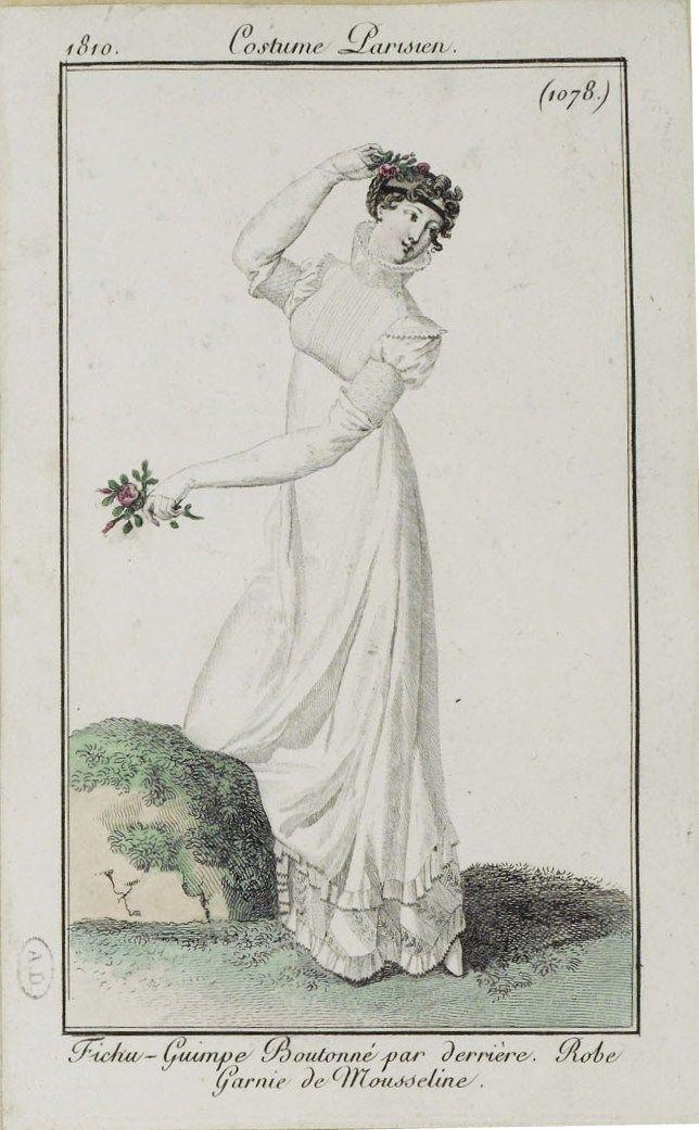 Costume Parisien (1078), 1810.
