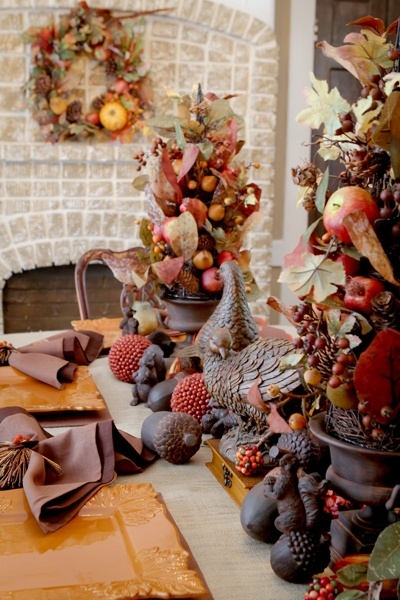 thanksgiving table carol 39 s linens macon ga tabletop ideas pinterest topiaries nice and. Black Bedroom Furniture Sets. Home Design Ideas