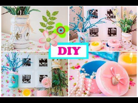 DIY ваза своими руками Шкатулка Рамка - YouTube