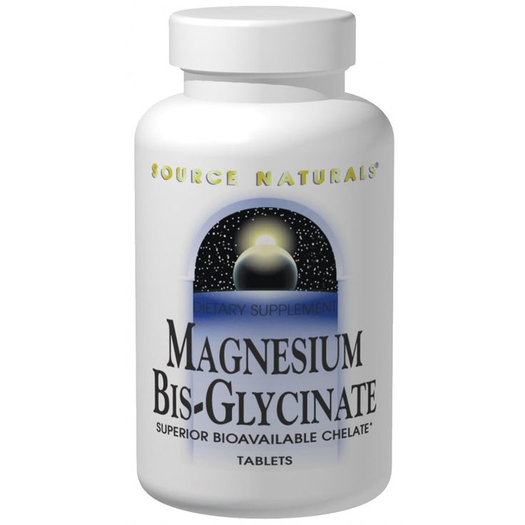 Source Naturals, Magnesium Bis-Glycinate, 120 Tablets (Discontinued Item)