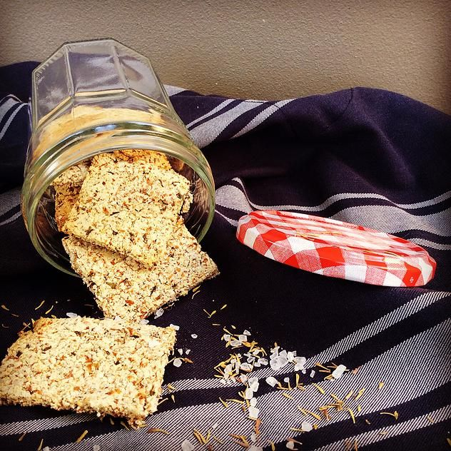 Fuel Fit | Rosemary and Almond Crackers