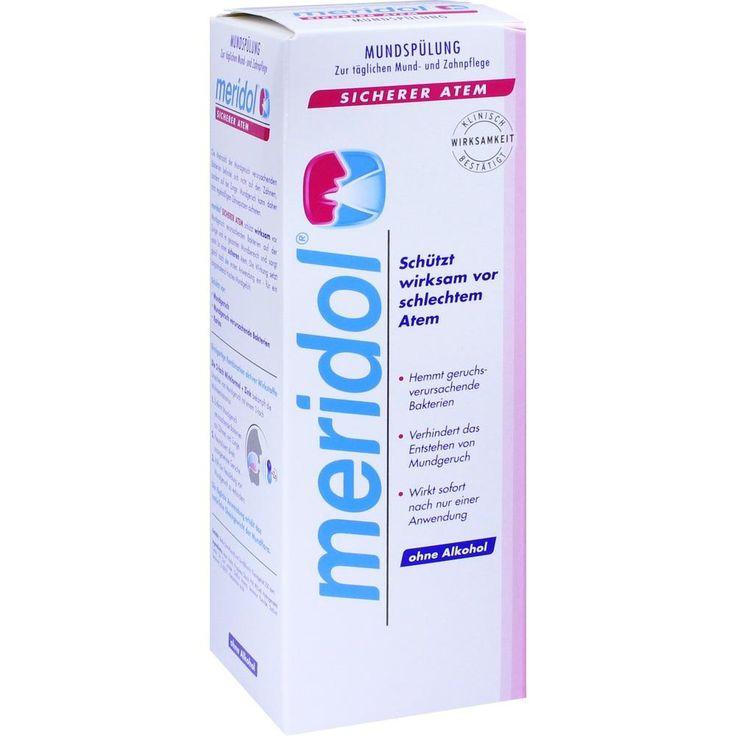 MERIDOL sicherer Atem Mundspülung:   Packungsinhalt: 400 ml Lösung PZN: 11141436 Hersteller: CP GABA GmbH Preis: 7,43 EUR inkl. 19 %…