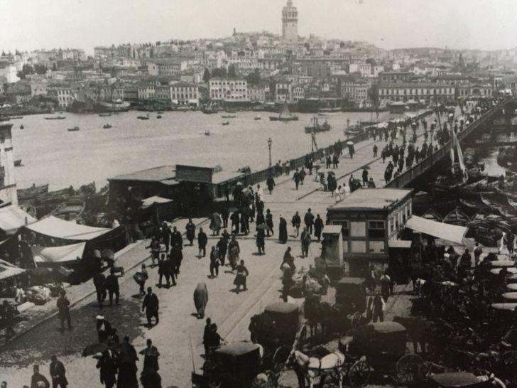 galata silüeti eski istanbul
