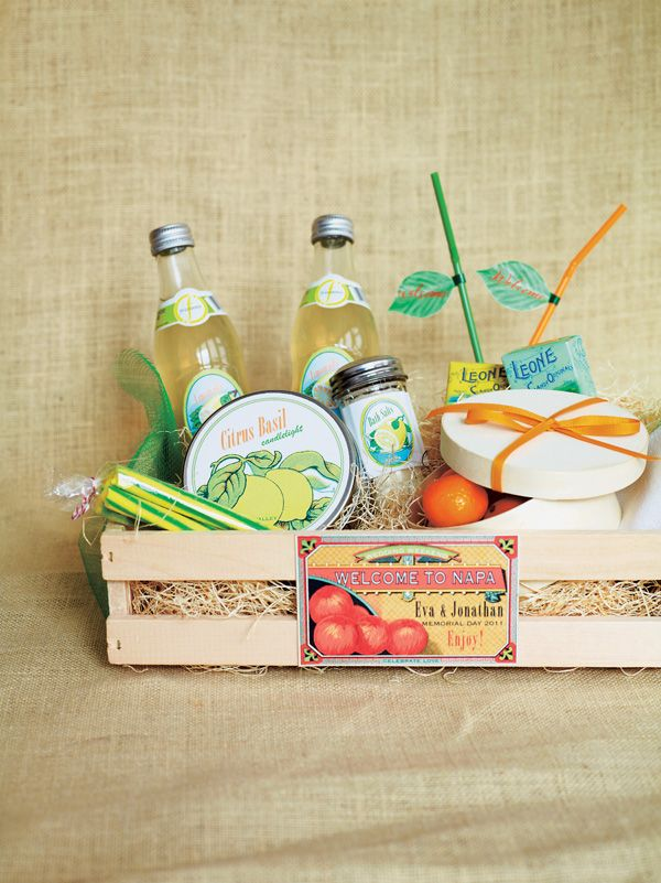 Creative gifts for house guests