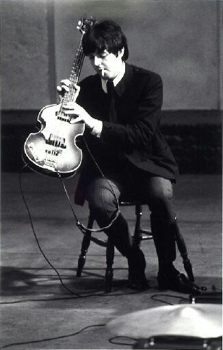 Macca with his bass