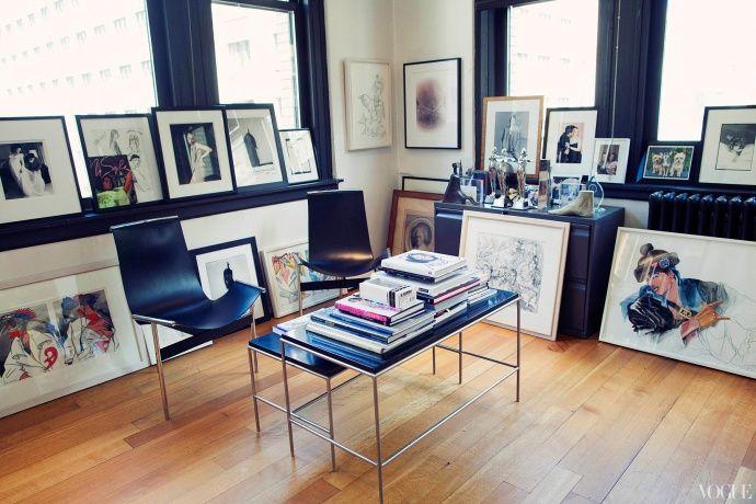 Narciso Rodriguez NYC studio