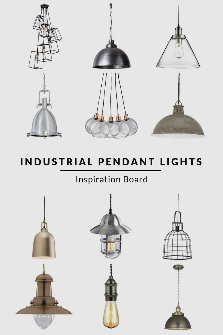 View The Industria Industrial Pendant Lights Industrial