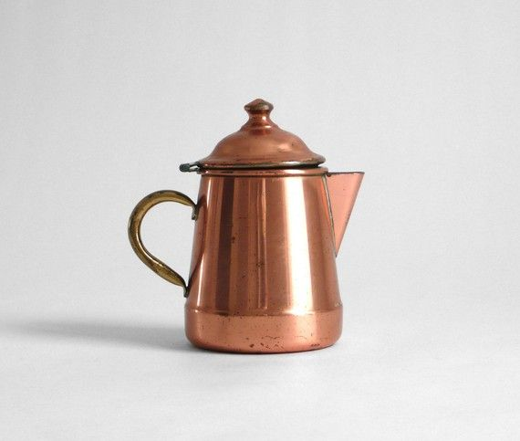 antique copper teapot / hindsvik...I definitely need one of these for my copper collection