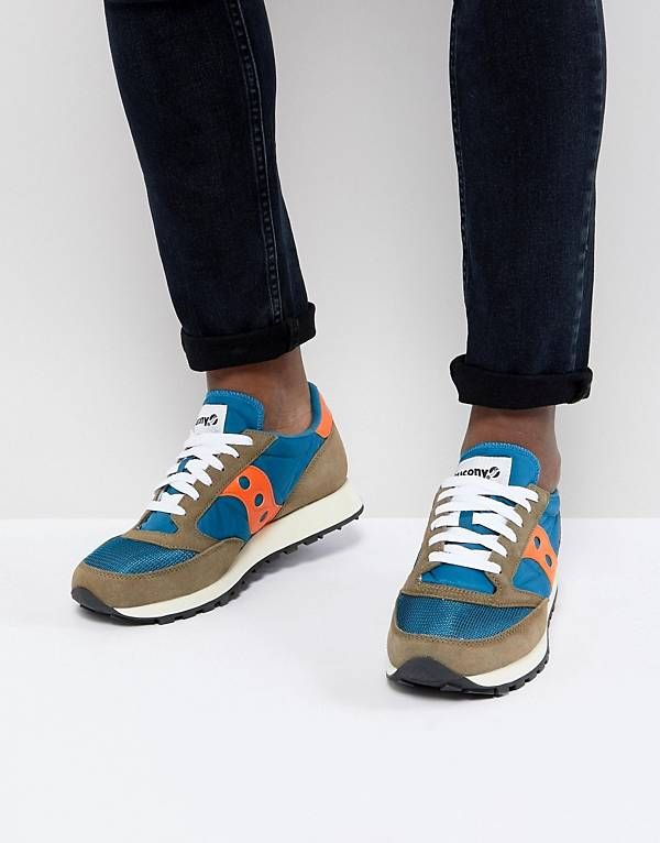 official photos a6d64 b7261 Saucony Jazz Original Sneakers In Blue S70368-14