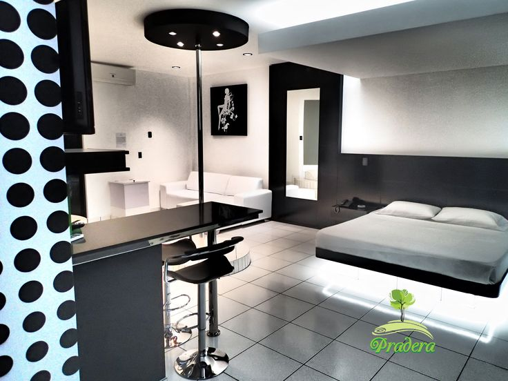 Black and White Suite, solo en Pradera Auto Hotel.