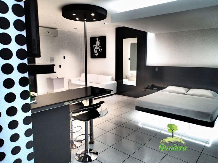 Black and White Suite, solo en Pradera Auto Hotel.