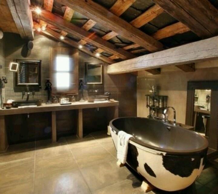 Ultimate cowboy Bathroom