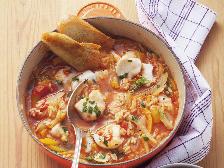 Fischsuppe mit Fenchel - smarter - Kalorien: 380 Kcal - Zeit: 30 Min. | eatsmarter.de