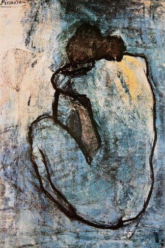Desnudo azul, c.1902 Fotografía por Pablo Picasso en AllPosters.es