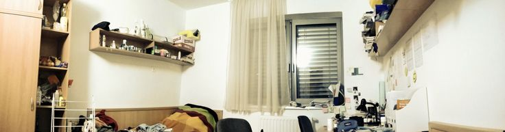 panorama photo in my college room.